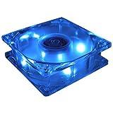 80mm case cooling fan - MASSCOOL 80mm Blue LED Cooling Fan BLD-08025S1M