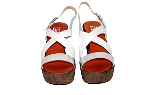 Sandalen Sandaletten aus Leder Schuhe Damen RIPA shoes - 51-527