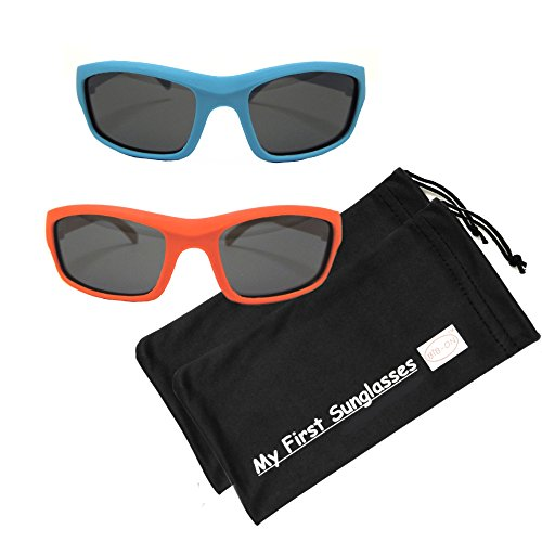 MFS-S/S-110mm - Light blue and Red - 2 - Too Sunglasses Small For Face