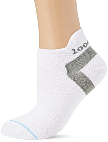 1000 Mile 1548 Trainer Liner Sock White Ladies - Medium 6-8.5 UK