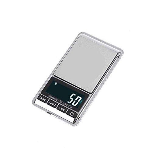 Pocket LCD Mini Electronic Digital Balance Weight Scale 300x0.01g - 6