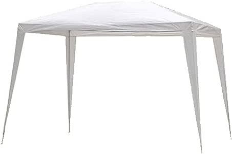 Hosa - Carpa Plegable Acero 2 x 3 m Blanca - Cenador Gazebo para Patio, Playa y Jardín Ideal para Camping, Feria, Eventos o Mercadillo.: Amazon.es: Deportes y aire libre