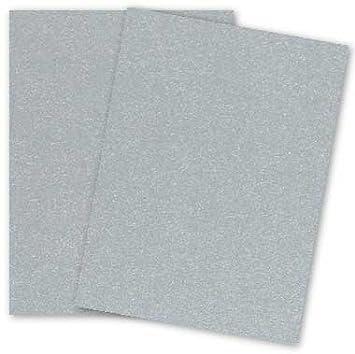 amazon metallic 8 5x11 card stock paper silver 105lb cover