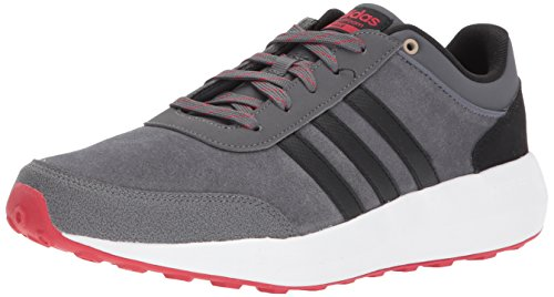 adidas Men's CF Race Running Shoe, Grey