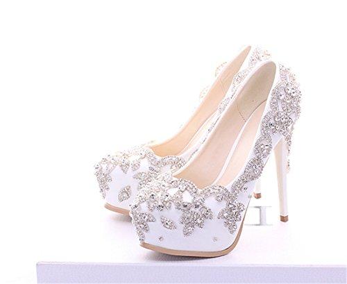 Plataforma Mujer 14cm Heel White Miyoopark ZPzwpq4