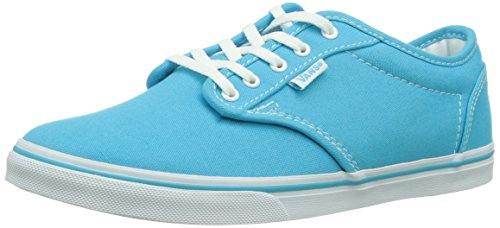 Vans W Atwood Low, Baskets mode femme Bleu (Blue Atoll/Whit/0Bw)