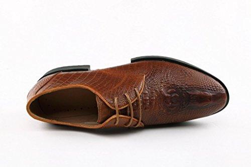 Minitoo - botas sin cordones hombre Marrón - marrón