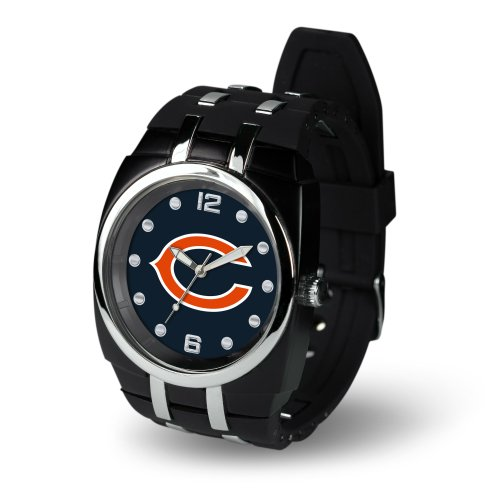 Chicago Bears Black Face - NFL Chicago Bears Crusher Watch, Black
