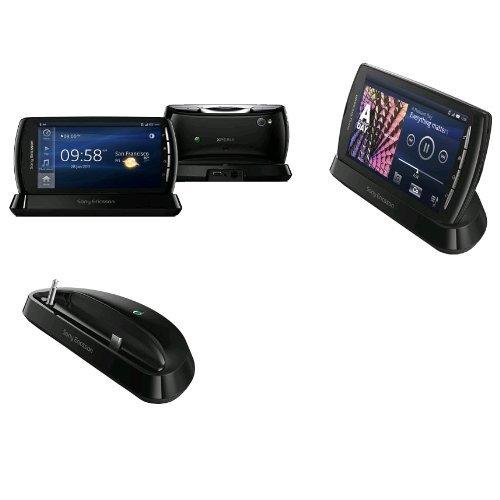 Sony Ericsson Dock - Sony Ericsson DK300 Multimedia Dock Desk Stand For Xperia Play - Black