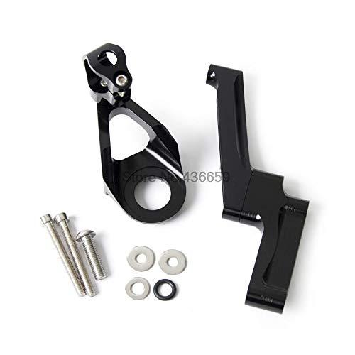 Iris-Shop - CNC Steering Damper Mounting Kit for Suzuki GSX1300R Hayabusa 1998 1999 2000 2011 2012 2013 2014 2015