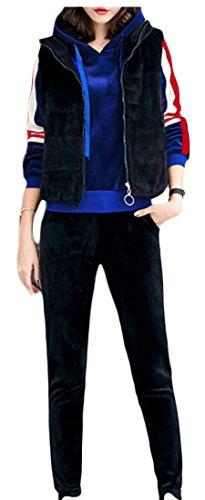 3 amp;W amp;S Sweatshirt 2 Womens Warm Pants Sports Sets Tracksuit M nZ7qSYqw