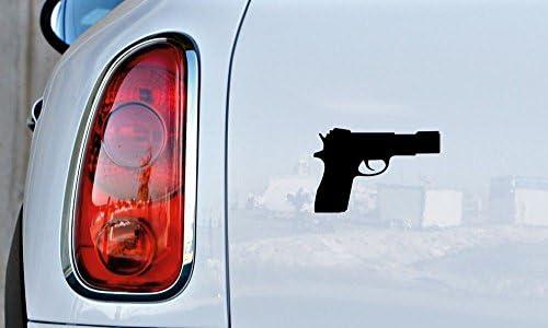 1 x If Guns Kill People Pencils Miss Spell Word Vinyl Car Decal Helmet  Sticker