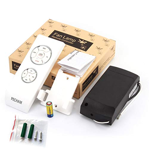 PECHAM Universal Lamp Kit & Timing Wireless Remote Control for Ceiling Fan, Scope of Application [Home/Office/Hotel/The Club/Display Hall/Restaurant] by PECHAM (Image #8)