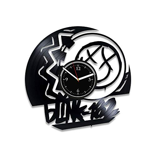 (RainbowClocks Blink-182 Clock Blink 182 Vinyl Wall Clock Blink-182 Vinyl Wall Clock Blink 182 Gift Blink-182 Wall Clock Gift For Man Birthday Gift Blink-182 Vinyl Wall Clock Blink 182 Clock Vintage )