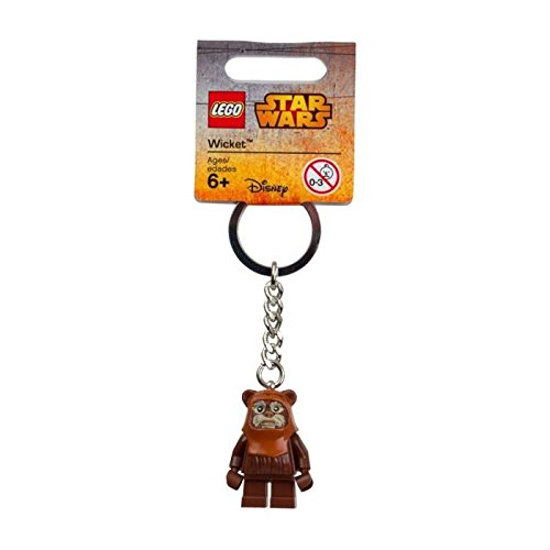 Lego Star Wars Wicket Key Chain (Lego Star Wars Ewok Sets)