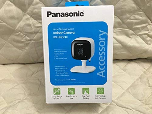 Panasonic Cctv (PANASONIC Home Monitoring System Indoor Camera - KX-HNC210W Add-on)