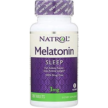 Natrol (1 Item ONLY) Melatonin 3 mg, 120 Tablets