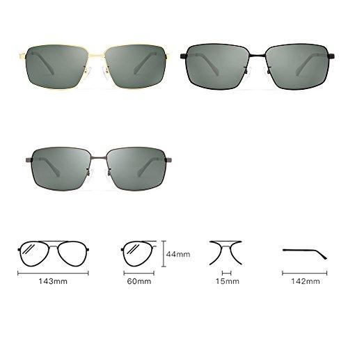 de Gafas Gafas C conducir de con polarizadas sol UV SSSX hombre para Color sol Gafas para Gafas protección sol A deportivas de 5wqyXAS