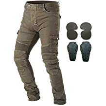 Takuey Men Motorcycle Riding Pants Denim Jeans With Protect Pads Equipment