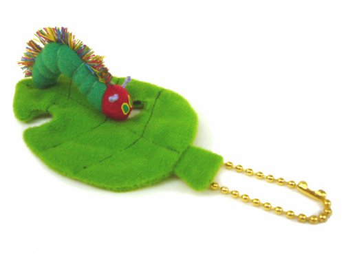 The Very Hungry Caterpillar mini mascot leaves