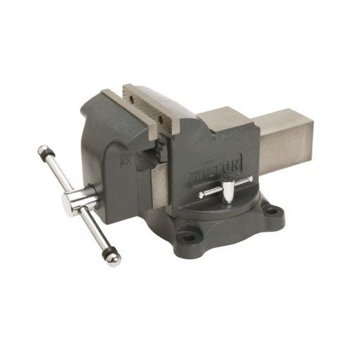 8 Bench Vise (Wilton Model WS8 Jaw Width 8-Inch Throat Depth 4-Inch Shop)