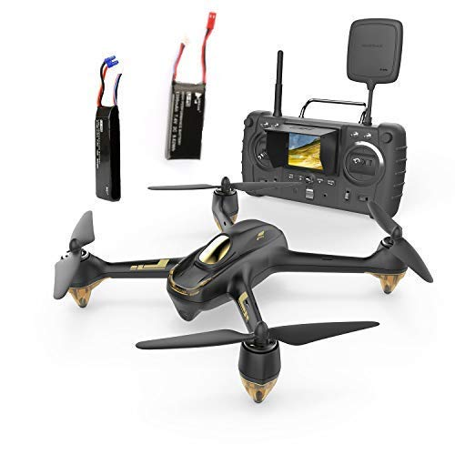 HUBSAN X4 H501ss Pro Drone GPS FPV with 3M Pixel Camera 5.8G Live Video Transmission Distance 400m RC Quadcopter Follow me ,Altitude Mode,Automatic Return, Headless Mode Great for Adults