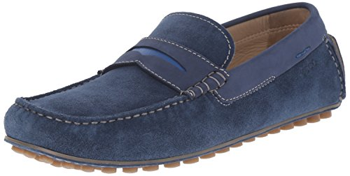 EccoECCO DYNAMIC MOC MEN - Mocasines Hombre Azul (DENIM BLUE/DENIM BLUE/BERMUDA BLUE59740)
