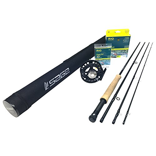 - Sage Foundation 690-4 Fly Rod Outfit (6wt, 9'0