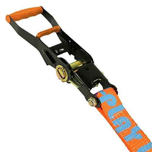 Slackline Industries Play Line 50ft Slackline Kit for Beginners with Help Line, Ratchet, Tree Protectors