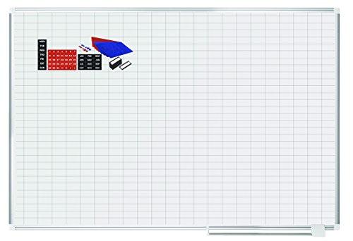 MasterVision Planning Board Porcelain Dry Erase Magnetic 1