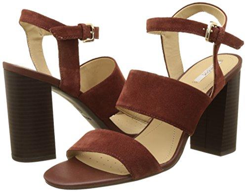 Cuña A Audalies Sandalias Sandalo D High Con Para Geox Mujer wT0OI5