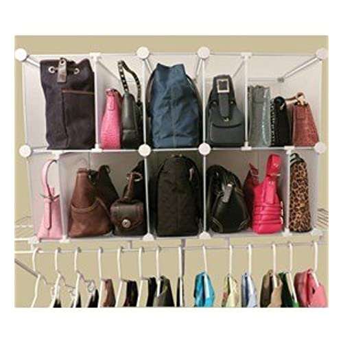Luxury Living Deluxe Shelf Organizer -  sc 1 st  Amazon.com & Handbag Storage: Amazon.com
