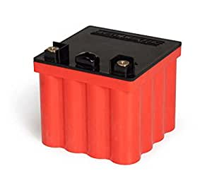Ballistic Performance Lithium EVO2 12V 16-Cell Motorcycle Battery, Red, 500 Amps, Mpn: 100-013