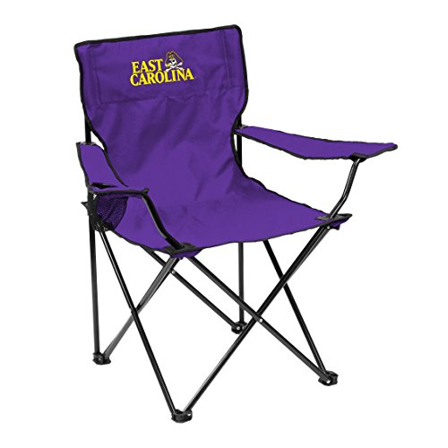 NCAA East Carolina Pirates Adult Quad Chair, Purple