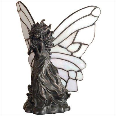 Fairy Holding Ladybug Accent Lamp