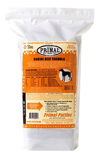 Primal Canine Raw Frozen Beef Formula - 6lb