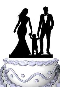 Amazon.com: Meijiafei Wedding Cake Topper - Bride and