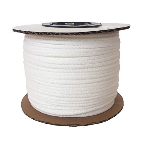 Synthetic Upholstery Welt Cord, Braided MADE IN USA (#00 - 4/32'' - 1/8'' Soft - 83 yards) by Great Lakes Cordage