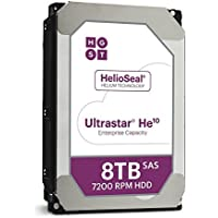 HGST Ultrastar He10 HUH721008AL5200 8 TB SAS 3.5 Internal Hard Drive