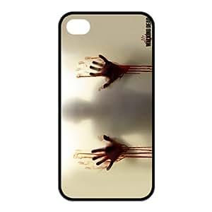 The Walking Dead - cubierta mkCase personalizada TPU (cáscara dura) Funda para el iPhone 4 4s