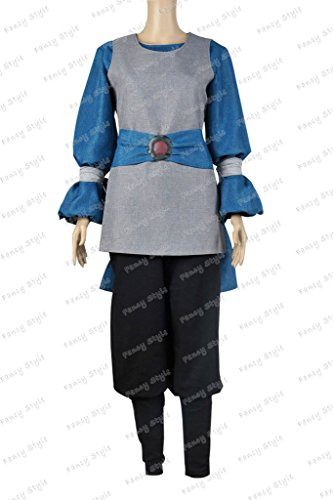 [Star Wars The Phantom Menace Padme Amidala Cosplay Costume Blue Grey S] (Padme Amidala Halloween Costumes)
