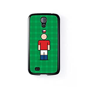 Czech Republic Black Hard Plastic Case for Samsung? Galaxy S4 by Blunt Football International + FREE Crystal Clear Screen Protector