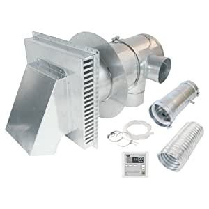AO Smith 9007846005 4-Inch to 7-Inch Direct Vent Conversion kit with Remote, Condensate Drain, Backflow Preventer and Concentric Termination