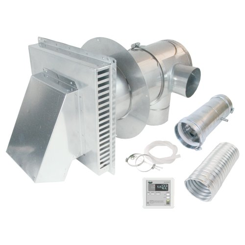 AO Smith 9007846005 4-Inch to 7-Inch Direct Vent Conversion kit with Remote, Condensate Drain, Backflow Preventer and Concentric Termination by AO Smith