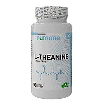 Nutrione - L-Teanina - 60 Cápsulas Vegetales: Amazon.es: Salud y cuidado personal