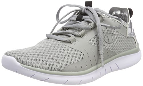 Champion Damen Low Cut Shoe Alpha Cloud Laufschuhe Grau (Hugh Rise Grey Es006)