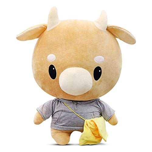 Helen-sky Korean Drama Secretary Kim Cartoon Hard Cow Plush Stuffed Pet Doll Children Toys Birthday Pillow Lovely Doll Gift (60CM) ()
