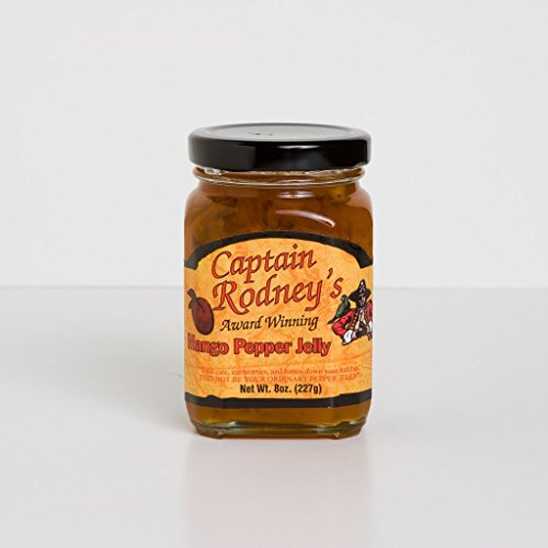 Captain Rodney's Everyday Collection Mango Pepper Jelly - Pepper Jelly Mango