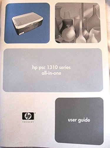 PRINTER HP PSC 1310 SERIES ALL-IN-ONE USER GUIDE HP INVENT