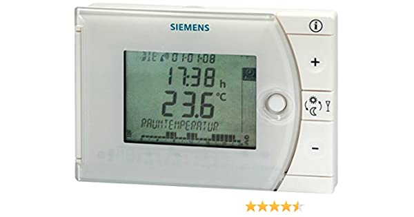 Siemens REV13 - Termostato, color blanco: Amazon.es: Bricolaje y herramientas